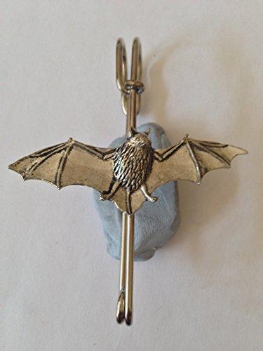 Kilt A34Batte écharpe ou Broche en étain emblème 7,6cm 7,5cm fait à la main à Sheffield