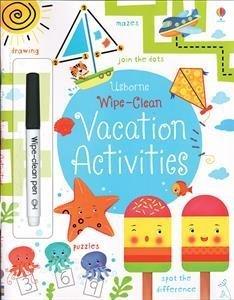 Download Wipe-Clean Vacation Activities (Usborne Wipe-Clean Books) ebook
