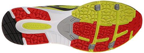 Salomon X-Scream 3D - Zapatillas para hombre Amarillo (gecko green/bright red/black)