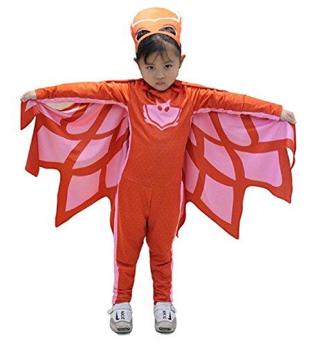 Tamaño 110-3 - 5 años - Disfraz - Traje - Carnaval - Halloween - Azul - Superhéroes - Máscaras Pj - Niño - Gatuno: Amazon.es: Bebé