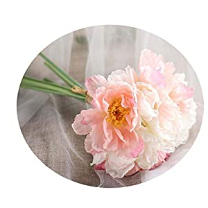 7 Branches/Bouquet Silk Artificial Poppy Bouquet Flower Romantic Wedding Bride Bouquet Flower Rosemary Home Wreath Garden Pink