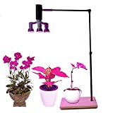 60W Led Plant Grow Lights Stand&Fixture&Bracket Rack with 3in1 Led Growing Lamp Full Spectrum for Home Indoor Plants Growing (with 3in1 Bulb)