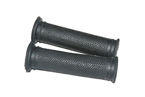 - Enfield County Pair Lycette Pattern Type Rubber Made Handlebar Grips For 7/8