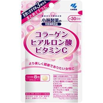 【ネコポス対応送280円】小林製薬 コラーゲンヒアルロン酸ビタミンC(240粒×3個セット) B0793QGBW7