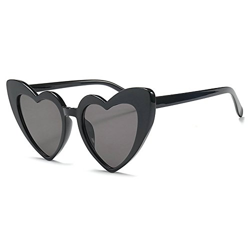 MINCL/New Fashion Love Heart Sexy Shaped Sunglasses For Women Girls Brand Designer Sunglasses UV400 - Shaped Heart Sunglasses Oversized