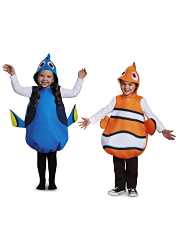 [Dory and Nemo Girls and Boys Costume Set] (Dory And Nemo Costumes)