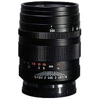 Mitakon Zhongyi Zhongyi 50mm f/0.95 Lens for Sony Nex E-mount Full Frame Cameras Manual Focus - Bundle W/ 55mm Filter Kit, Lens Pouch, LensPen Lens Cleaner, Cleaning Kit, Capleash II, and more
