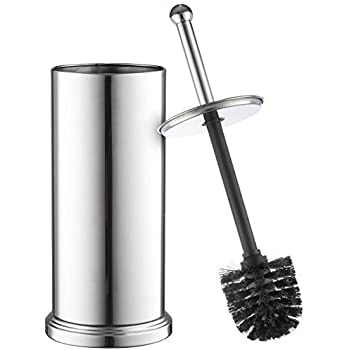 home it toilet brush set chrome toilet brush for tall toilet bowl and toilet brush. Black Bedroom Furniture Sets. Home Design Ideas
