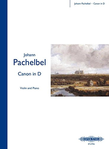 Pachelbel: Canon in D (arr. for violin and piano) ()
