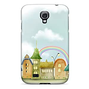 Fashion Tpu Case For Galaxy S4- Smalltown 1920x1080 Defender Case Cover