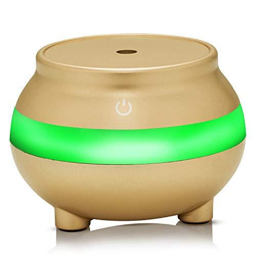 YUNXIAOHONG Nano humidifier air Atomizer Incense Diffuser Gold