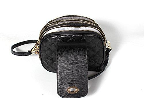 Bag università 2 Tipo Pelle Spalla Borsa Vintage viaggio Sucastle Donna Tracolla A In 1 Messenger D'affari 0TOwvq