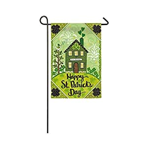 Evergreen Irish Blessings Suede Garden Flag, 12.5 x 18 inches