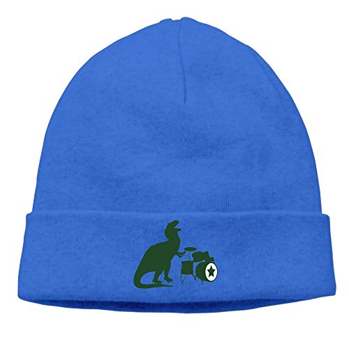 SADCPO T-Rex Rocking Unisex Cool Beanie Watch CapFashion Ski Cap Warm Slouchy Beanie (Jughead Costume Hat)