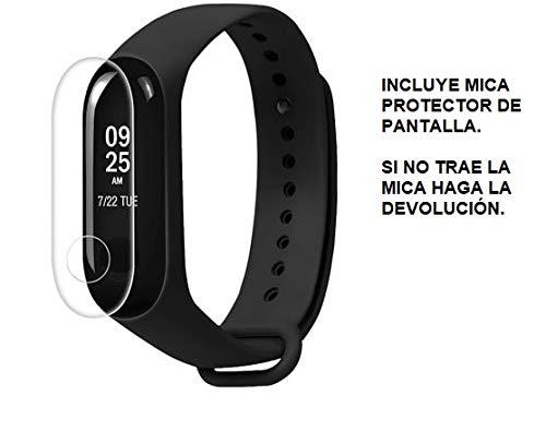 Xiaomi Mi Band 3 Fitness Tracker Pantalla OLED Resistente al Agua Podómetro Medidor Frecuencia Cardíaca para iPhone y Android (Negro)