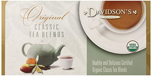Davidson's Tea Single Serve Jasmine Flower, 100-Count Tea Bags