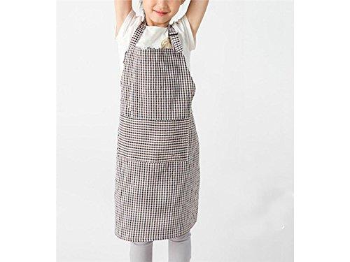 Yyanliii Spaß Kindergitter Einstellbare Schürze für Kochen Backing Art Lektion Kinder Schürze (Größe: M)