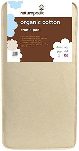 Naturepedic Organic Cotton Cradle Pad product image
