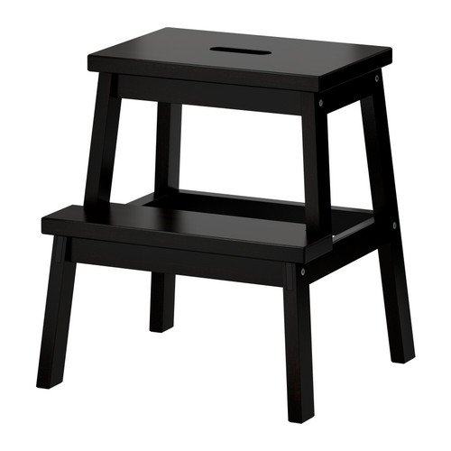 IKEA - BEKVÄM Step stool, black ()