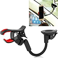 Kyocera DuraForce Pro Compatible Easy One Hand Mount Car Holder Dash and Windshield Cradle Window Rotating Dock Stand Suction Adjustable Gooseneck
