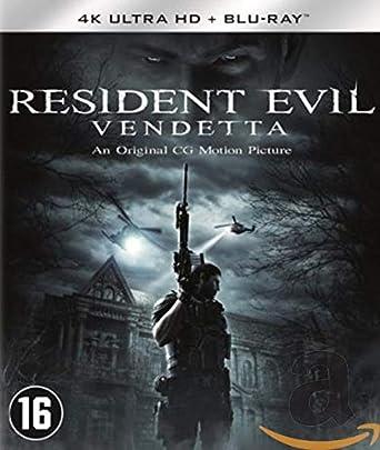 Resident Evil - Vendetta Edition 4K + Blu Ray Blu-ray: Amazon.es: Cine y Series TV