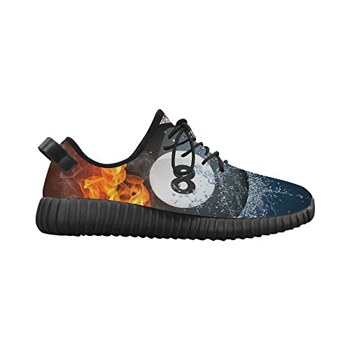 D-Story Billiards Ball Grus Mens Breathable Woven Running Shoes Boost Shoes Sneakers lpeYtN2