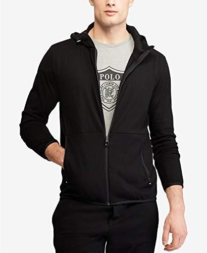 - Polo Ralph Lauren Men's Active Fit Hoodie Black Large