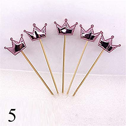 83f35957b3 Cake Decorating Supplies - Wedding S 5pcs Lot Cute Crown Star Pers ...
