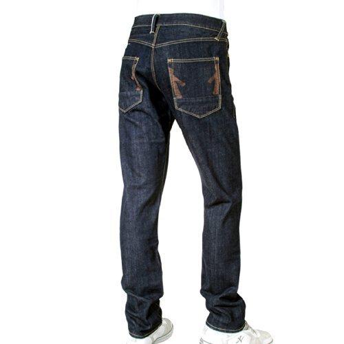 Ijin J5214 23E ligne rouge pour homme Coupe slim Ijin2245 jeans