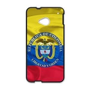 HDSAO Republica de Colombia libertad y orden Cell Phone Case for HTC One M7