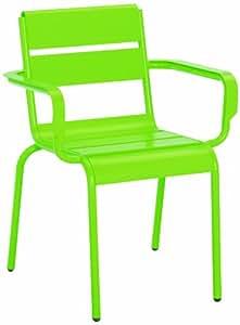 Best 45100234 silla de jardín - sillas de jardín (Dining, Grid, Asiento duro) Verde