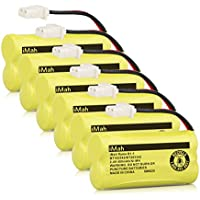 iMah Ryme B1-1 BT183342 BT283342 Cordless Phone Batteries for Vtech CS6114 CS6719-2 AT&T EL51203 Handset Telephone (Pack of 6)