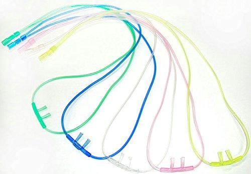 【100本セット】鼻用酸素吸入器 カニューレ(全5色) B077MFLVM5
