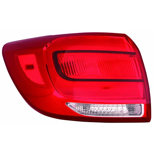Fits KIA Sportage 2014-2016 Tail Light Assembly EX/LX Model Driver Side (NSF Certified) KI2805121N
