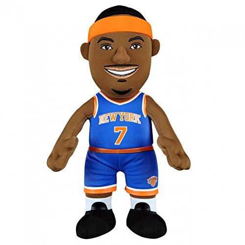 Nba New York Knicks Carmelo Anthony Plush Figure  10   Blue