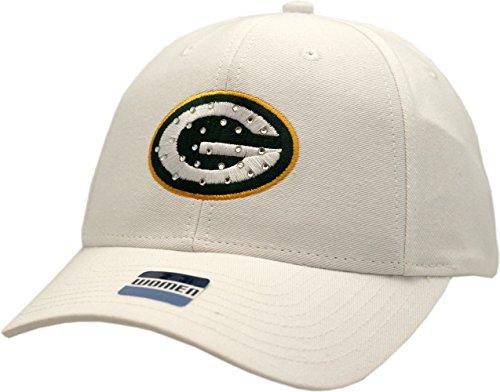 Green Bay Packers Ladies Hat Rhinestone Logo Block