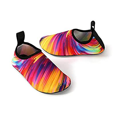 Ulike Water Shoes for Women and Men Outdoor Beach Swimming Aqua Shoes Quick-Dry Barefoot Sock Shoes Surfing Yoga Pool Exercise