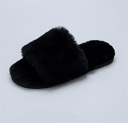 Da Casual Slipper Pelliccia Per Casa Donna Mhgao inverno Indoor 5 Pantofole Autunno HRxwdnq