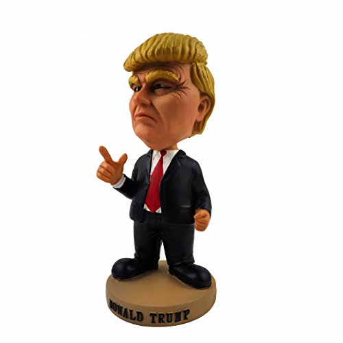 Minch Donald Trump Bobblehead President doll- limited edition Present (Presidential Campaign Car)
