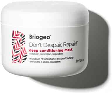 Briogeo - Don't Despair, Repair! Deep Conditioning Mask, Intense Hydration for Those with Dry, Damaged, Chemically Treated and/or Lifeless Hair, 8 oz