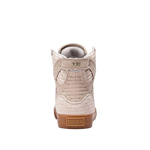 Supra Damen Skytop Sneaker Tan - Gummi