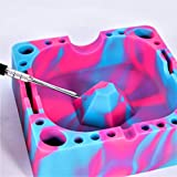 SESH Station [Fire Pink | Purple | Blue] - Silicone