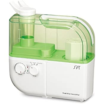 SPT Dual-Mist Ultrasonic Humidifier (Warm/Cool), Green