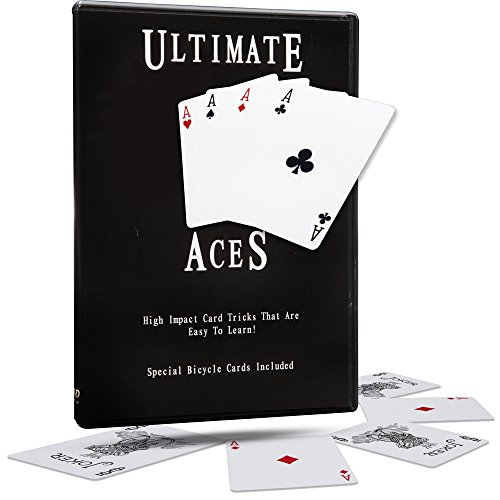 - Magic Makers Ultimate Aces Instructional Card Magic Trick Guide with Magician Ben Salinas by Easy to Learn High Impact Card Tricks