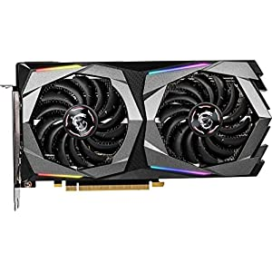 MSI Gaming GeForce RTX 2060 Super Gaming X 8GB GDRR6 256-bit HDMI/DP G-Sync Turing Architecture Overclocked Graphics…