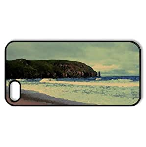 Beach Nature 43 Watercolor style Cover iPhone 5 and 5S Case (Beach Watercolor style Cover iPhone 5 and 5S Case)