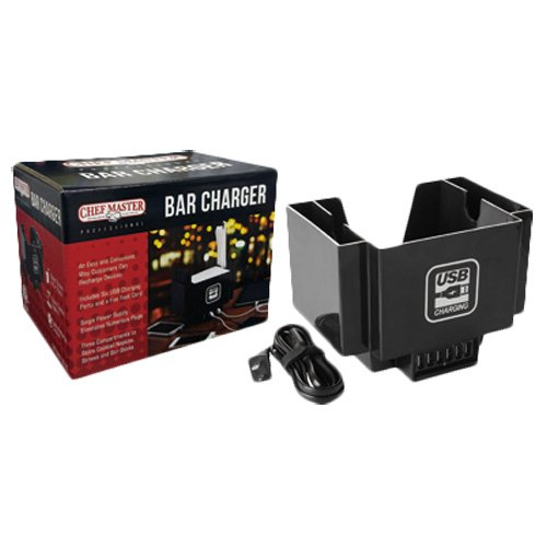 Chef-Master 90029 with USB Hub Bar Caddy