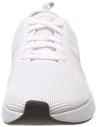 pure Racer Mujer Running De Nike Platinum W Zapatillas White Dualtone white RqxTzYa