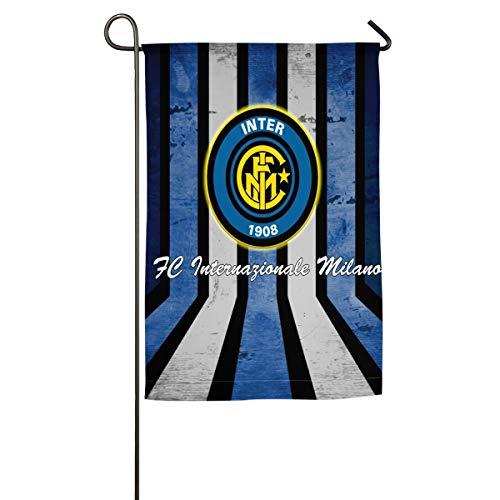 Inter Milan FC Home Garden Flags Decorative House Yard Flag 12