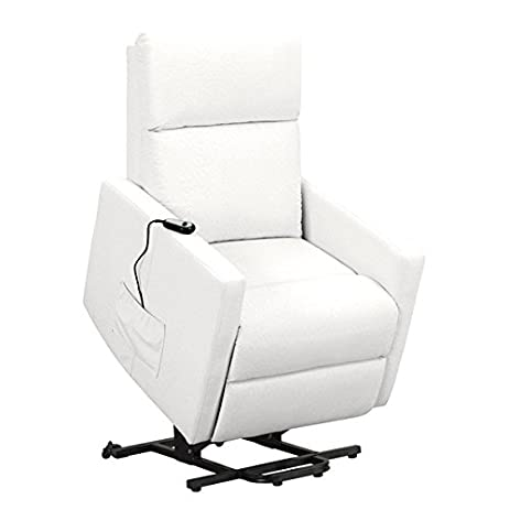 Power Lift Wall Hugger Recliner Chair Synthetic Leather (White)  sc 1 st  Amazon.com & Amazon.com: Power Lift Wall Hugger Recliner Chair Synthetic ... islam-shia.org